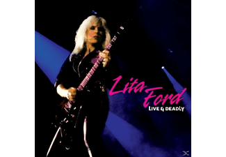 Ford Lita - Live & Deadly  - (Vinyl)