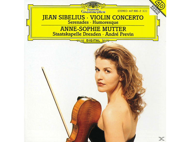 VARIOUS, Mutter,Anne-Sophie/Previn,Andre/SD - Violinkonzert D-Moll/Serenaden [CD]