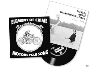 ELEMENT OF CRIME/PERC MEETS THE HIDDEN GENTLEMAN - Motorcycle Song/Man-I-Toba (White Vinyl) - (Vinyl)