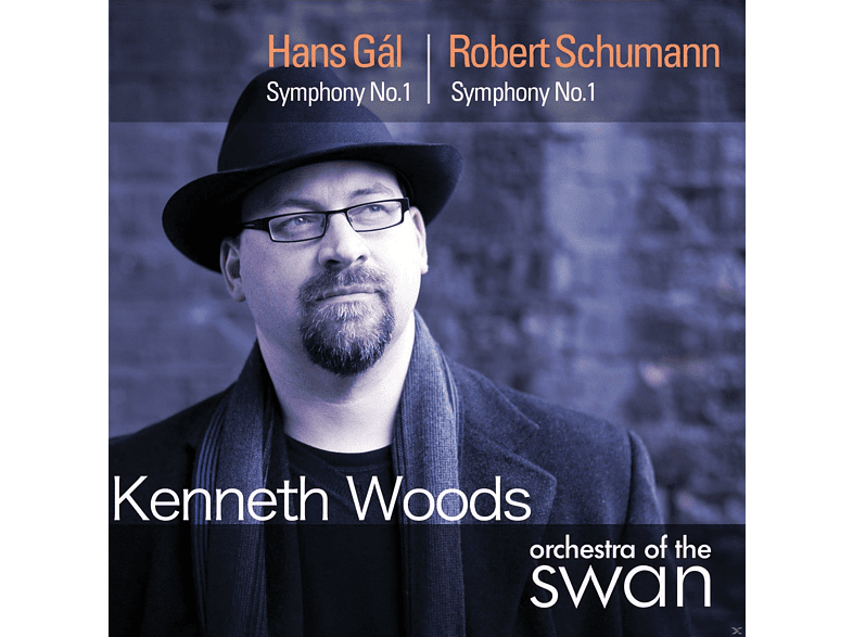 Kenneth Woods, Orchestra Of The Swan - Sinfonie 1 [CD]
