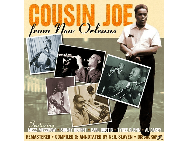 Various Feat.Marchan/Gayten/Clarke/Mezzrow - Cousin Joe-From New Orleans [CD]