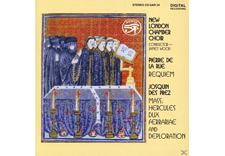 WOOD/NEW LONDON CHAMBER CHOIR - Josquin Des Prez/Pierre de la R - (CD)