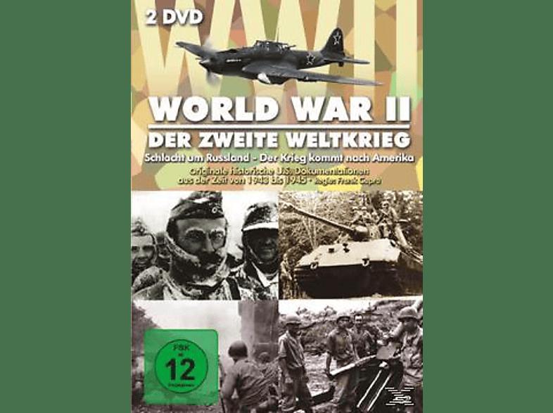 WORLD WAR 2 - SCHLACHT UM RUSSLAND/KRIEG KOMMT NAC [DVD]