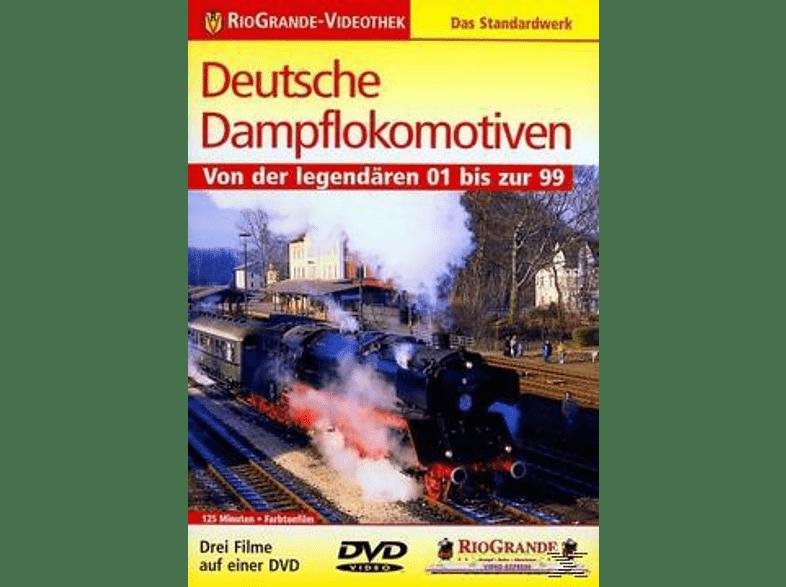 DEUTSCHE DAMPFLOKOMOTIVEN [DVD]