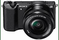 Cámara EVIL - Sony ILCE 5100L, 24.3 MP, CMOS Full HD, Wi-Fi, NFC + E PZ 16-50mm f/3.5-5.6 OSS