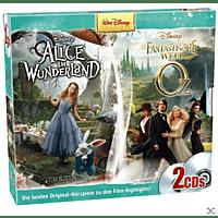 Walt Disney - Disney 2er Box: Alice im Wunderland / Fantastische Welt von Oz - (CD)