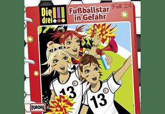 Die drei !!! 24: Fußballstar in Gefahr  - (CD)