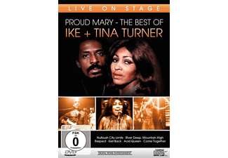 Ike & Tina Turner - PROUD MARY - THE BEST OF - LIVE ON STAGE - (DVD)