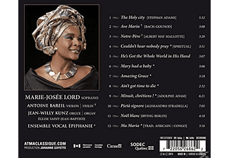 Marie-josee Lord - Amazing Grace  - (CD)