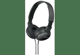 Auriculares con cable - Sony MDR-ZX110, Supra-aural, Negro