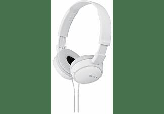 Auriculares con cable - Sony MDR-ZX110 Blanco, Supra-aural