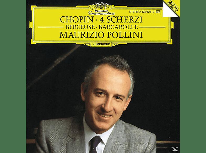 Maurizio Pollini - 4 Scherzi/Berceuse/Barcarolle [CD]
