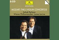 Wpo, Perlman,Itzhak/Levine,James/WP - Sämtliche Violinkonzerte 1-5 (Ga)/+ [CD]