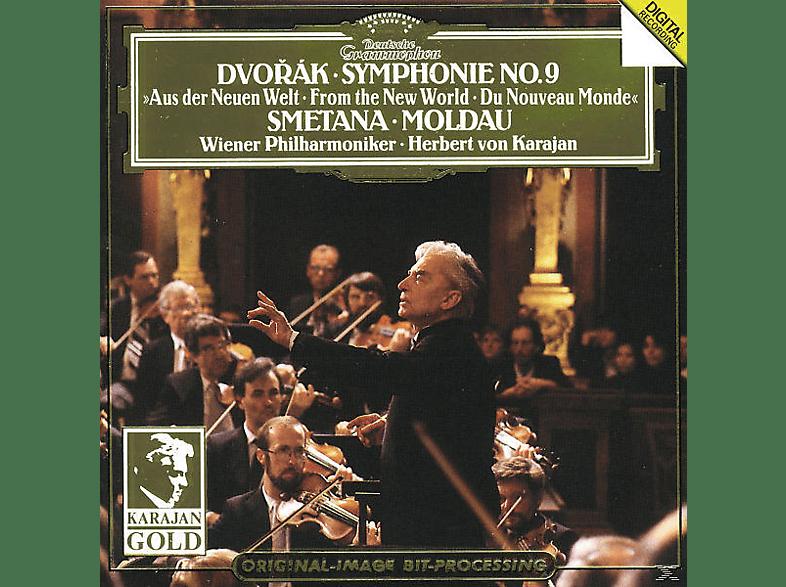 Wpo, Herbert Von/wp Karajan - Sinfonie 9/Die Moldau [CD]