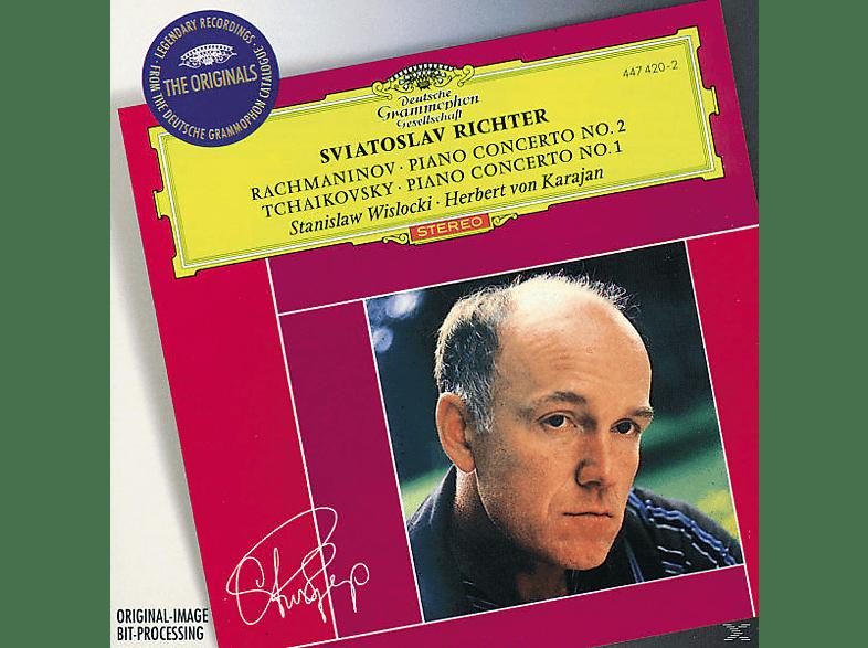 VARIOUS, Richter/Wislocki/Karajan/NPW/+ - Klavierkonzert 2/Klavierkonzert 1 [CD]