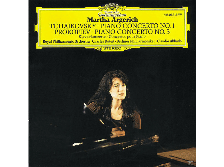 Martha Argerich, Argerich/Dutoit/Abbado/RPO/BP - Klavierkonzert 1/Klavierkonzert 3 [CD]