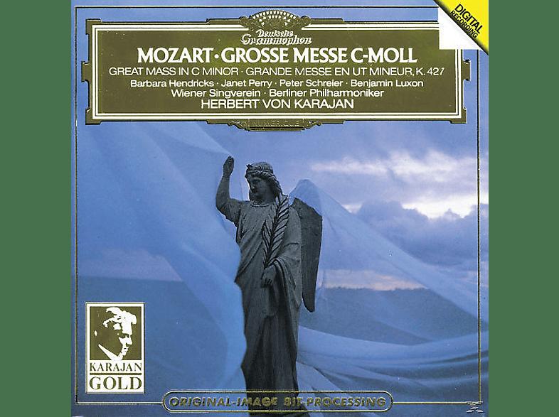 HENDRICKS,BARBARA/PERRY,JANET/SCHREIER,PETER/LUXON,BENJAMIN, Hendricks/Schreier/Karajan/WP - Messe C-Moll Kv 427 [CD]