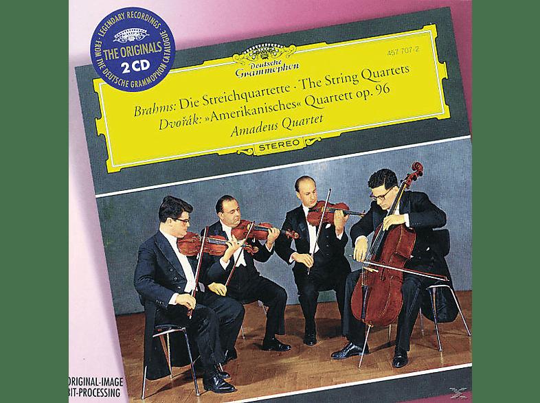 Amadeus Quartett - Streichquartette 1-3/12 Op.96 [CD]