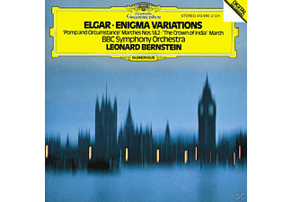 BBC Symphony Orchestra, Leonard/bbcso Bernstein - Enigma Variations/Crown Of India/+ - (CD)