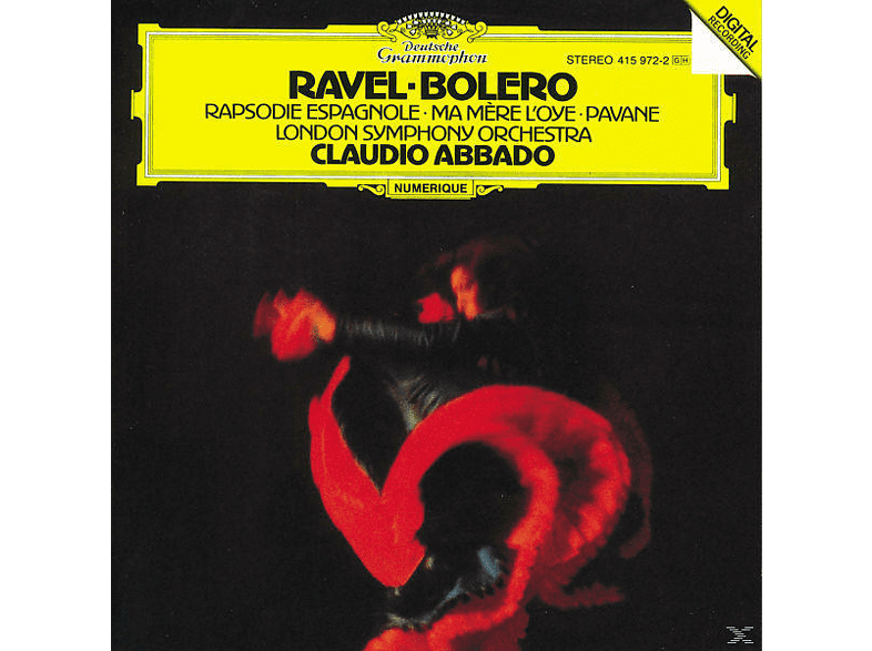Claudio Abbado, Claudio/lso Abbado - Bolero/Mere L'oye/Rhaps.Espagnole [CD]