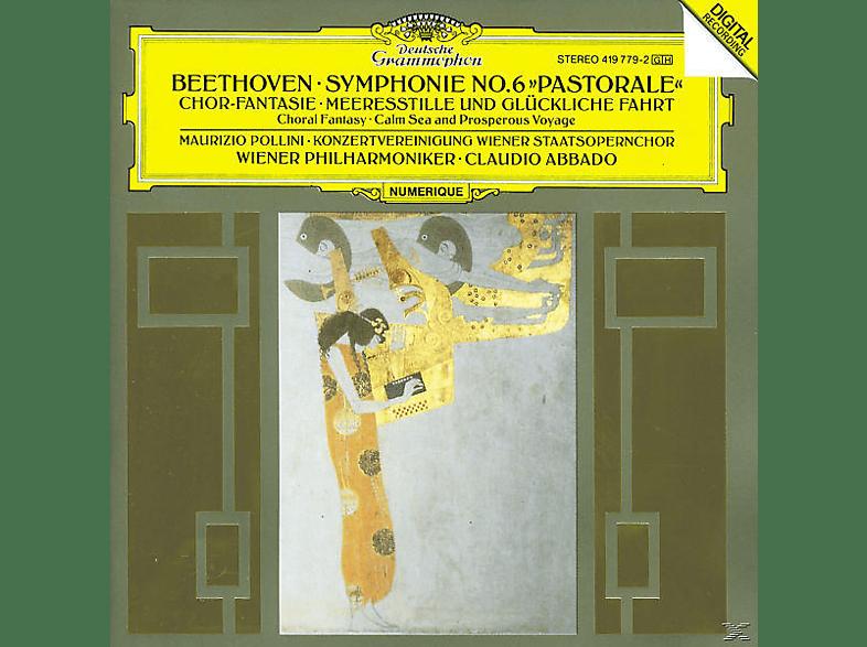 Maurizio Pollini, Pollini,Maurizio/Abbado,Claudio/BP - Sinfonie 6/Fantasie Op.80/+ [CD]