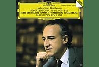 Maurizio Pollini - Klaviersonaten 17, 21, 25, 26 [CD]