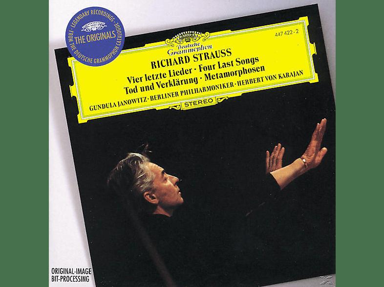 Herbert von Karajan, Bp, Gundula Janowitz, Janowitz,Gundula/Karajan,Herbert Von/BP - Vier Letzte Lieder/Tod Und Verklärung [CD]