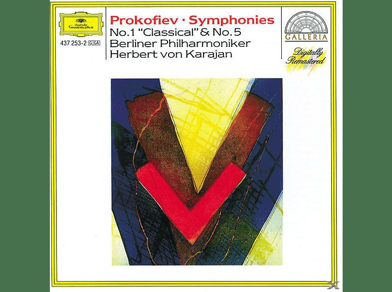 VARIOUS, Herbert Von Bp/karajan - Sinfonien 1, 5 [CD]