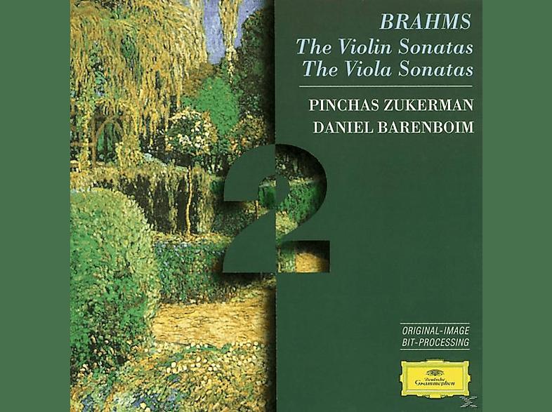 Daniel Barenboim, Daniel Barenboim Pinchas Zukerman - Violinsonaten 1-3/Violasonaten Op.120.1, 2 [CD]