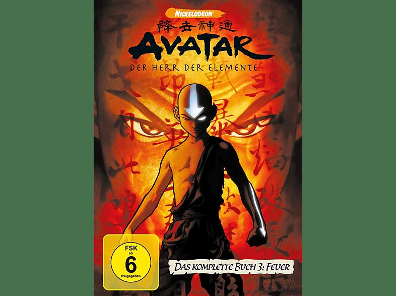 Avatar - der Herr der Elemente , Komplettbox Buch 3 [DVD]