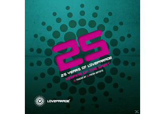 VARIOUS - 25 Years Of Loveparade-Keeping Up The Spirit - (CD)