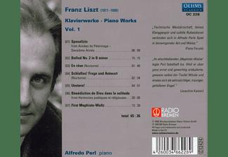 Alfredo Perl - Liszt: Piano Works Vol.1  - (CD)