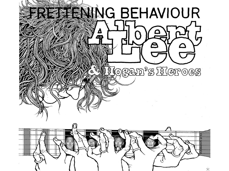 Albert Lee, Hogan's Heroes - Frettening Behaviour [CD]