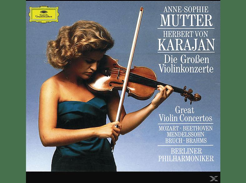 Anne-Sophie Mutter - Die Grossen Violinkonzerte [CD]