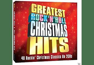 VARIOUS - Greatest Rock 'n' Roll Christmas Hits [Doppel-cd]  - (CD)