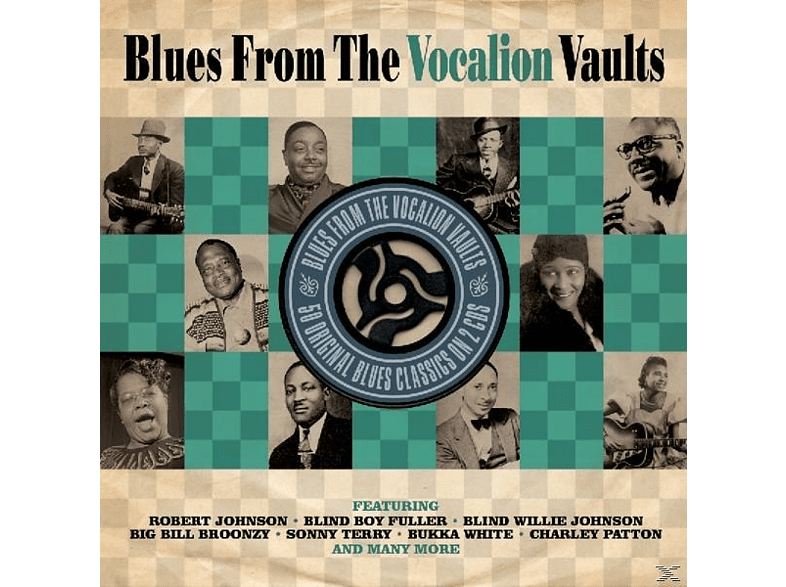 VARIOUS - Blues From Vocalion Vault [CD]