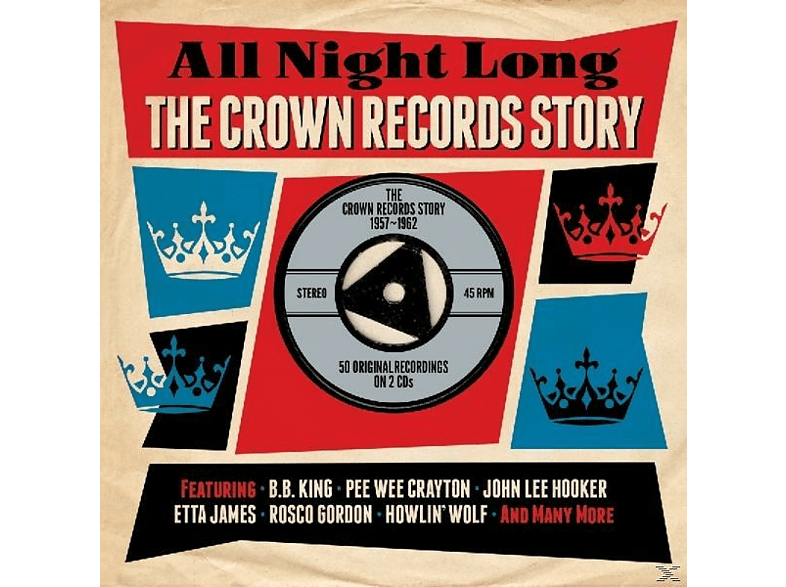 Various Artists - All Night Long - All Night Long-Crown [CD]
