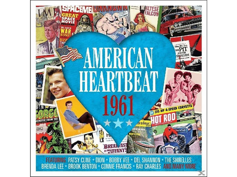 VARIOUS - American Heartbeat 1961 [CD]