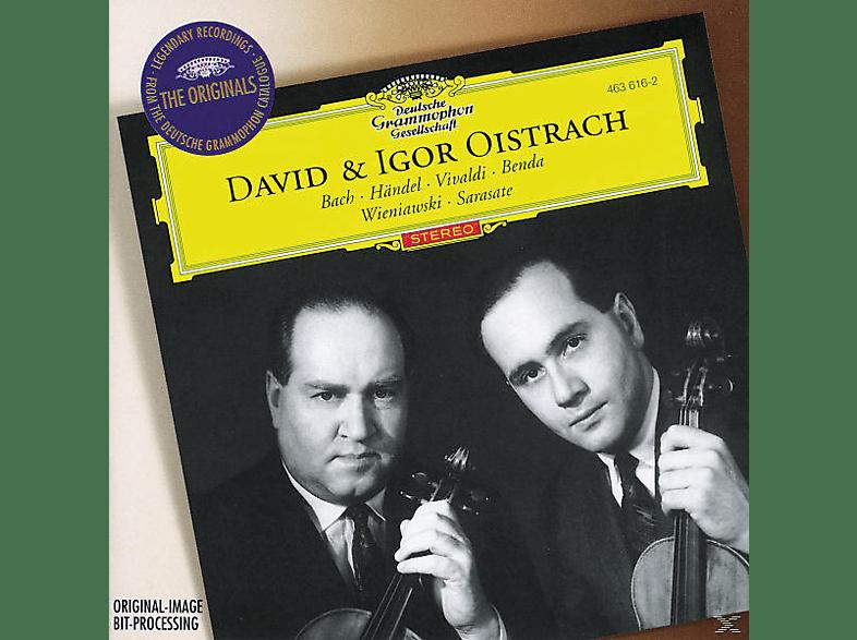 Igor Oistrach, Oistrach,David/Oistrach,Igor - Werke Für 2 Violinen [CD]