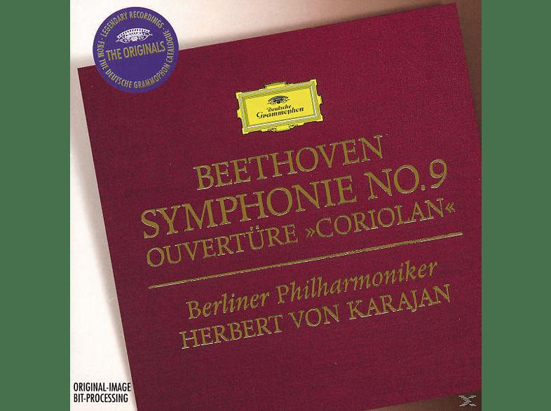 Carl August Nielsen, Janowitz/Kmentt/Karajan/BP - Coriolan-Ouvertüre/Sinfonie 9 [CD]
