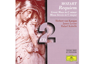 VARIOUS, Kubelik/Levine/Karajan/WP/BP/+ - Requiem Kv 626/Messen Kv 220, 427 [CD]