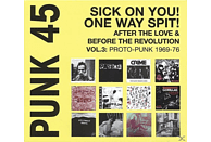 VARIOUS - Punk 45:Sick On You!one Way Spit! [LP + Download]