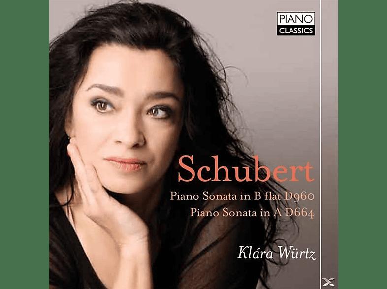 Klara Würtz - Piano Sonata B-Flat D 960/A D 664 [CD]