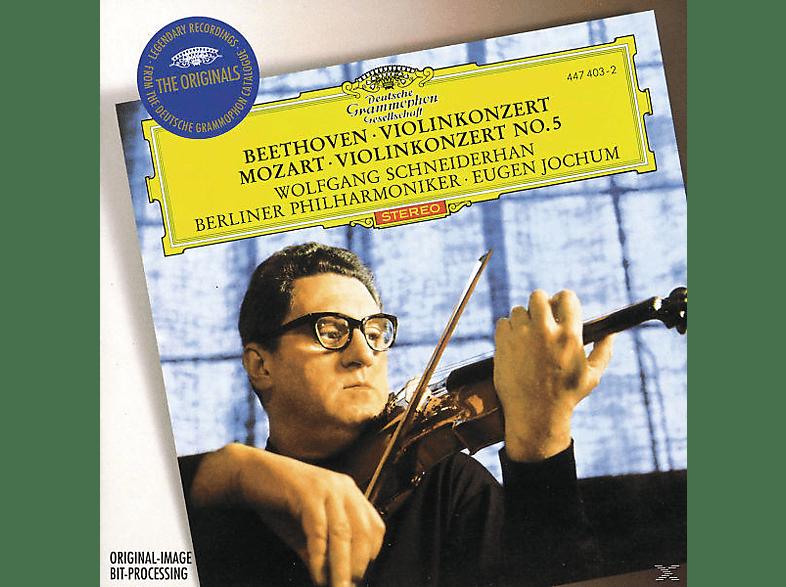 Schneiderhan, Eugen/bp Schneiderhan/jochum - Violinkonzert/Violinkonzert 5 [CD]