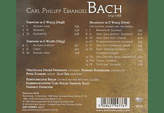 Haenchen/Rundfunkchor Berlin/KCPEB - Magnificat  - (CD)