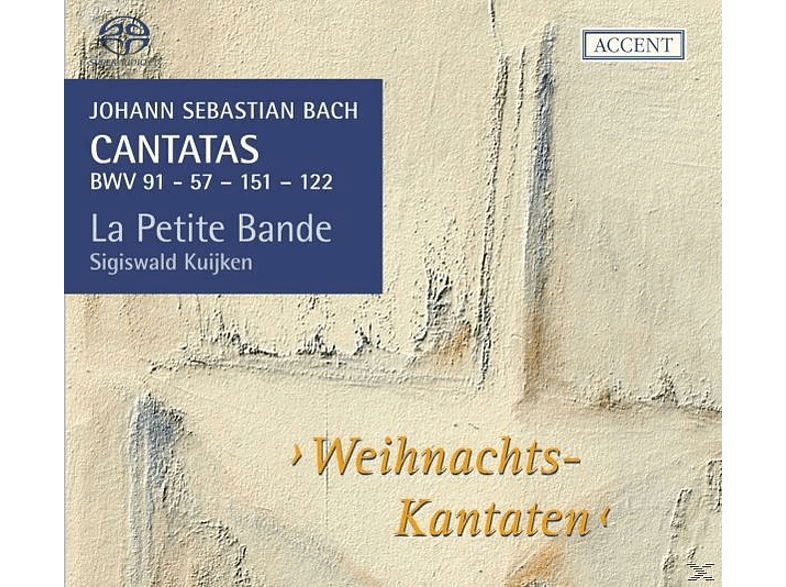 Sigiswald Kuijken, La Petite Bande Kuijken - Kantaten Für Das Kirchenjahr Vol.14: 57/ [SACD Hybrid]