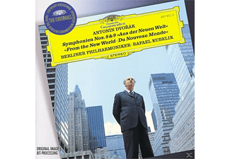 VARIOUS, Rafael & Bp Kubelik - SINFONIEN 8,9 - (CD)