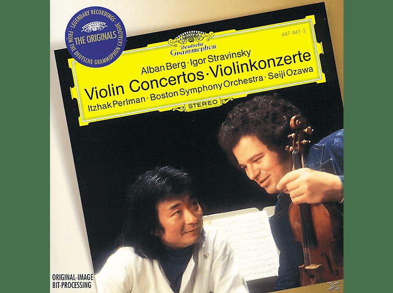 Itzhak Perlman, Perlman/Ozawa/BSO/Mehta/NYPO - Violinkonzerte/Tzigane [CD]