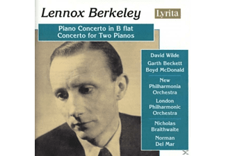 New Philharmonia Orchestra - Lennox Berkeley (1903-1989): Piano Concerto in B flat, Conce - (CD)
