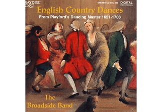 The Broadside Band - English Country Dances - (CD)
